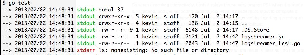 Prefix Streaming stdout & stderr in Go - kvz io